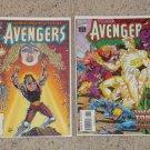 Marvel Avengers 383-384 NM, Error on Cover Date