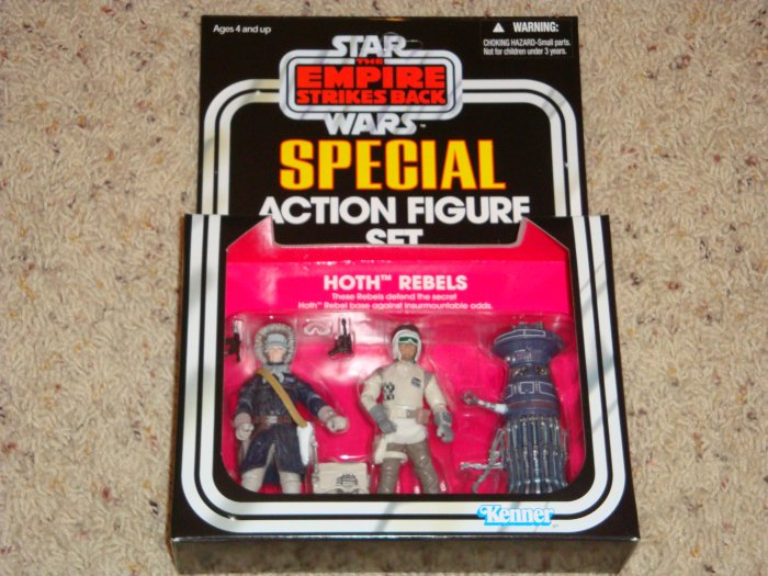 Star Wars Target Exclusive Empire Strikes Back Hoth Rebels 3-Pack New in Box