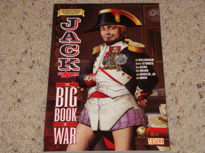 DC Vertigo Jack of Fables TPB Vol 6 The Big Book of War NM 2009