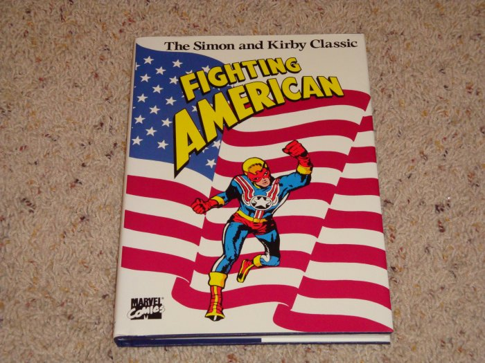 Marvel Comics Fighting American by Joe Simon & Jack Kirby 1989 NM