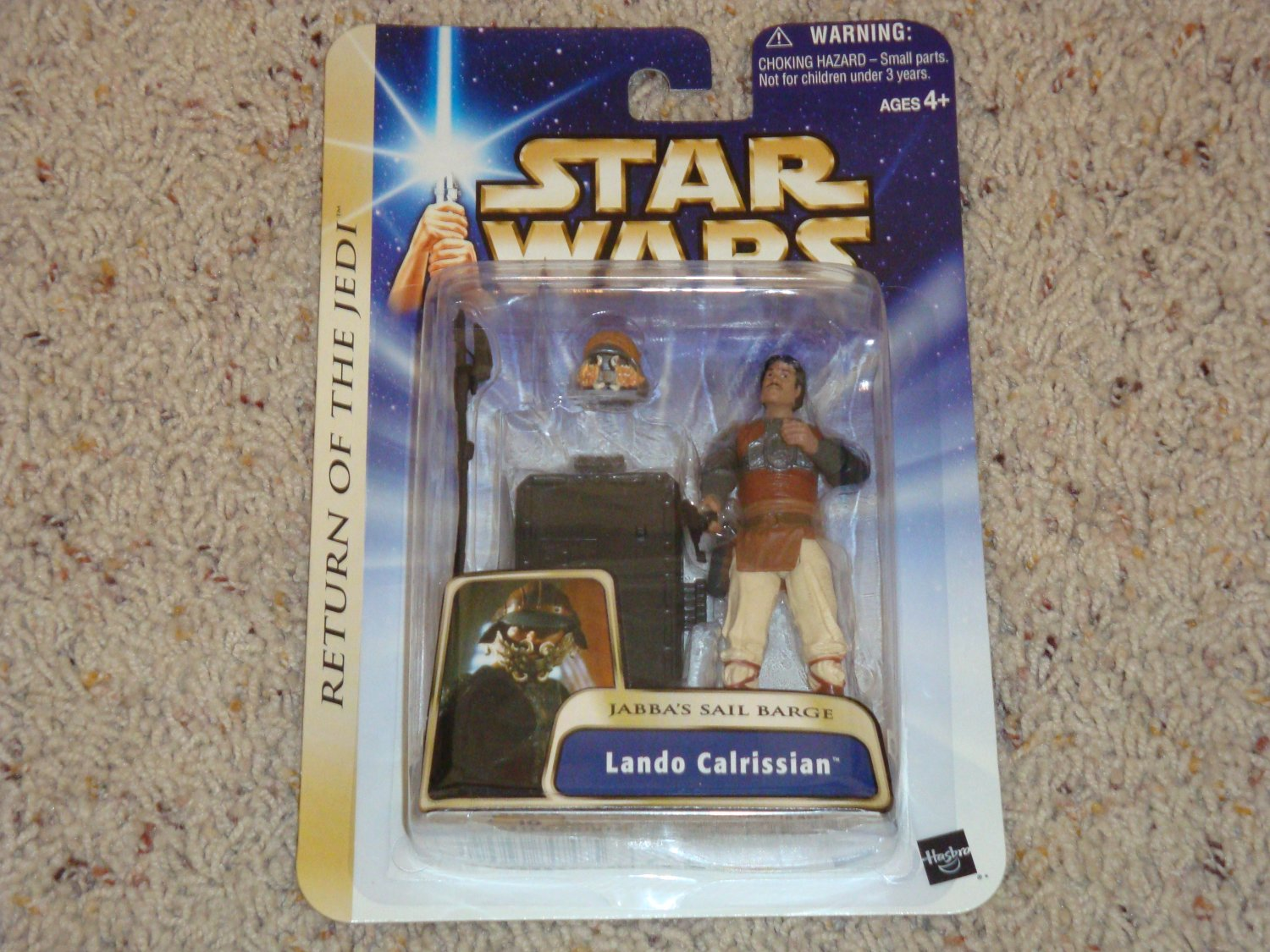 Star Wars Return of the Jedi Lando Calrissian Jabba's Sail Barge 04/07 New in Package