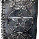 Black Pentagram Blank Book of Shadows