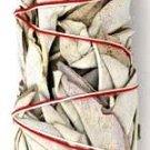 Medium White California Sage Smudge Stick