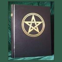 Pentagram Blank Book of Shadows 8 ½ x 11