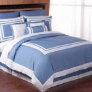 7 pc QUEEN SIZE BEDDING HOTEL DUVET COMFORTER COVER SET item#2