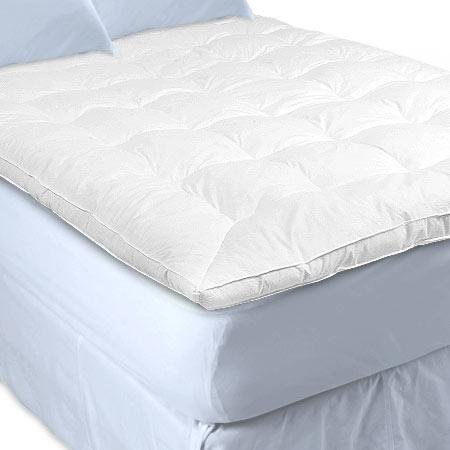 QUEEN DOWN FEATHERBED FEATHER BED Featherbeds comforter