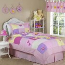 GIRLS 4 pc TWIN KIDS CHILDRENS BEDDING JUVENILE SET