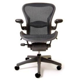 Herman Miller(R) Aeron(R) Chair Highly Adjustable