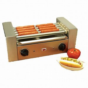 COMMERCIAL HOT DOG ROLLER GRILL COOKER MACHINE GRILLER