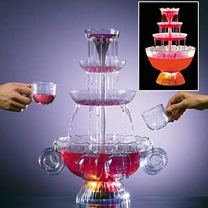 Lighted Party Fountain | Beverage & Drink Centerpiece