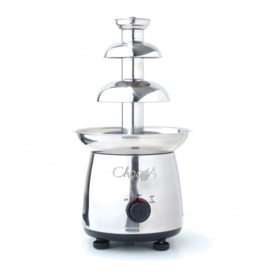 CHOCOA STAINLESS STEEL CHOCOLATE FONDUE FOUNTAIN MAKER