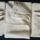 ORGANIC COTTON HAND TOWEL SET of 3 yoga gym kitchen