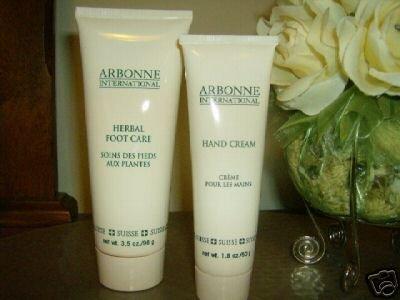Arbonne Cream Set