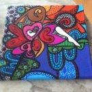 Acrylic Hand Painted Original By Luisa Melean