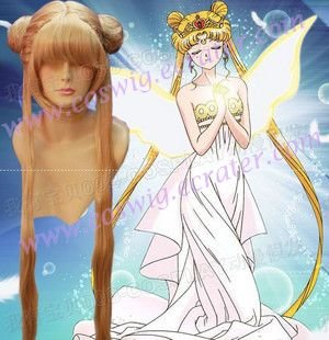 Tsukino Usagi  wigs  gold from Sailor Moon