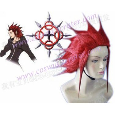 Kingdom Hearts Cosplay Wig Axel Red Wig