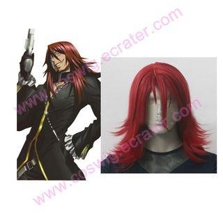 D.Gray-man Cross Maria Cosplay wig