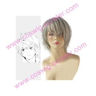 Death Note Near White Cosplay Wig