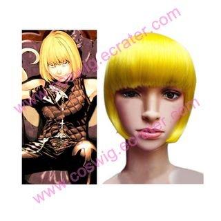 Death Note Mello Cosplay Halloween wig