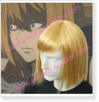Death Note Mello Mihael Keehl Halloween wig