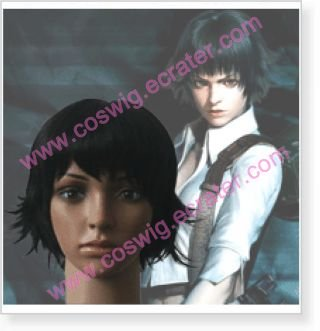 Devil May Cry Lady  Halloween wig