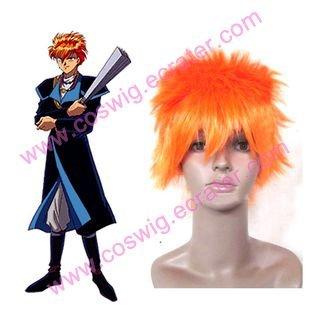 Black Fushigi Y?gi Tasuki   Halloween Cosplay wig