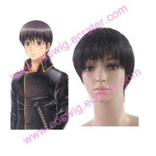 Gintama Shinsengumi Halloween  Halloween Cosplay wig