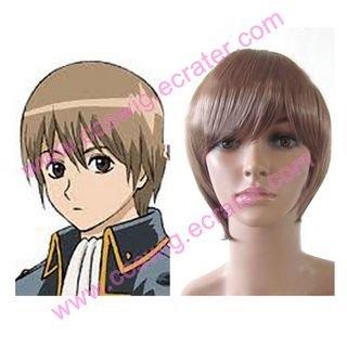 Gintama Suzumura Kenichi Halloween Cosplay wig