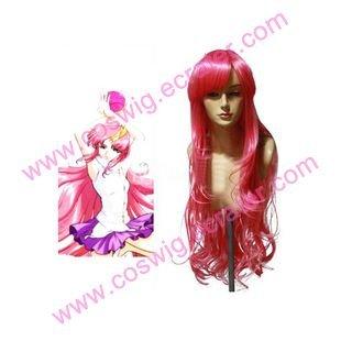 Gundam Seed Lacus   Halloween Cosplay wig