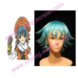 HackLegend of the Twilight Shugo Kunisaki Blue   Halloween Cosplay wig