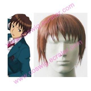 Haruhi Suzumiya Kyon Halloween Cosplay wig