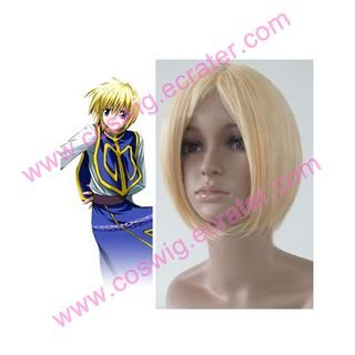 Hunter X Hunter Kurapika  Halloween Cosplay wig