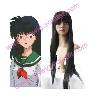 InuYasha Higurashi Kagome  Halloween Cosplay wig