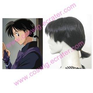 Inuyasha Miroku   Halloween Cosplay wig