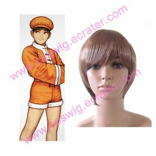 King of Fighter 99 Bao  Halloween  Cosplay Wig