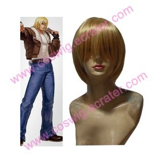 The King Of Fighters Terry Bogard   Halloween  Cosplay Wig