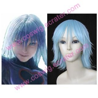 Kingdom Hearts Evil Riku Blue  Halloween Cosplay Wig