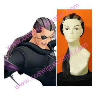 Kingdom Hearts Xigbar Custom Made  Halloween Cosplay Wig