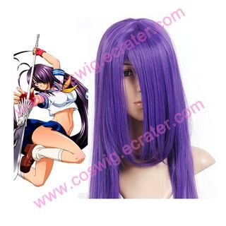 Kingdom of Warriors Battle Vixens purple  Halloween Cosplay Wig