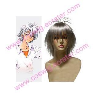 Kingdom of Warriors Neon Genesis Evangelion Kaworu Nagisa  Halloween Cosplay Wig