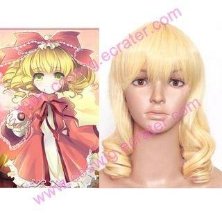 Rozen Maiden Hinaichigo curly Halloween Cosplay Wig