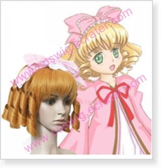 Rozen Maiden Hinaichigo Strawberry Doll  Halloween Cosplay Wig