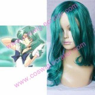 Sailor Moon Sailor Neptune  Halloween Cosplay Wig