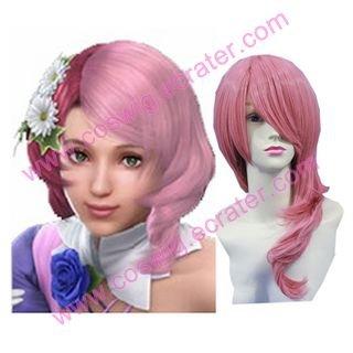 Tekken 6 Alisa Bosconovitch   Halloween Cosplay Wig
