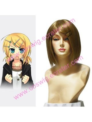 Vocaloid Kagamine Rin  Halloween Cosplay Wig