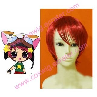 Digi Charat Meek  Halloween Cosplay Wig
