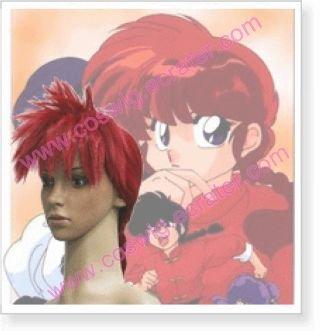 Ranma 12 Girl Part Saotome Halloween Cosplay Wig