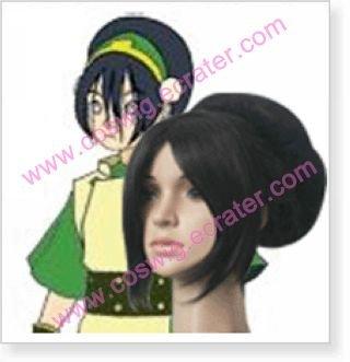 Avatar The Last AirBender Toph  Halloween Cosplay Wig
