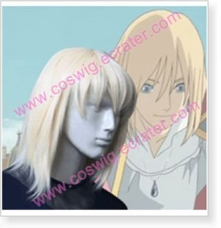 Howl's Moving Castle Howl Halloween Cosplay Wig