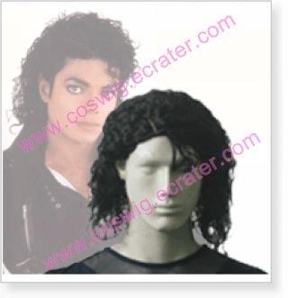 Michael Jackson   Halloween Cosplay Wig